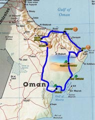 TOUR OMAN FLY DRIVE 4X4