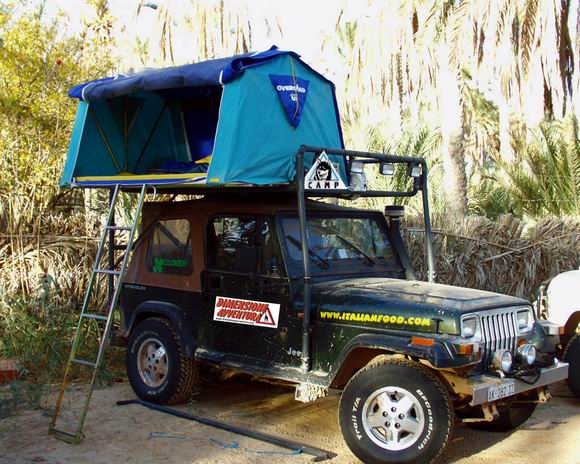 TENDA TETTO 4X4 OVERCAMP