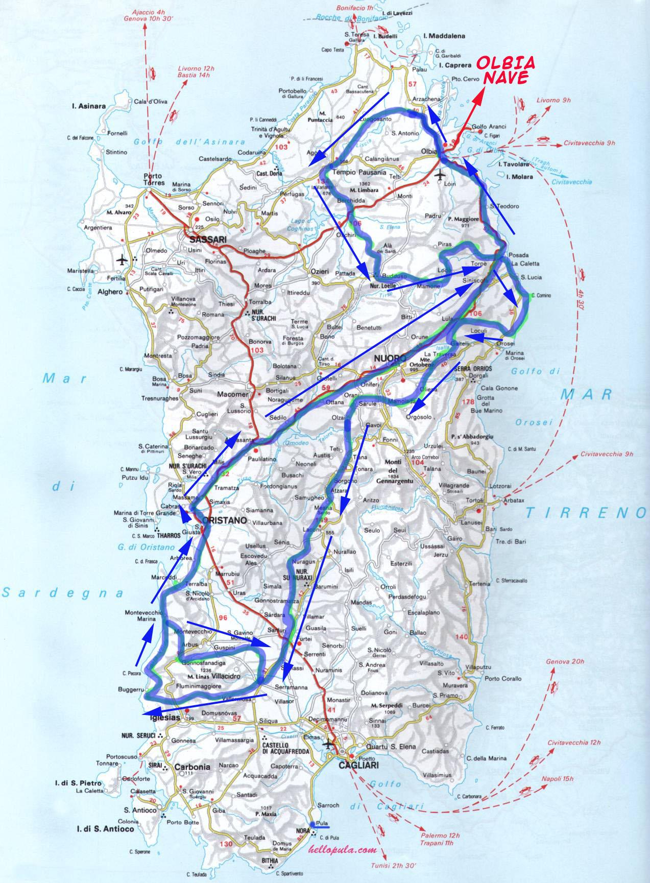 Mappa Km Sardegna.Sardegna 4x4 Sardegna Viaggio 4x4 Fuoristrada Sardegna Vacanze Fuoristrada Sardegna Offroad 4x4